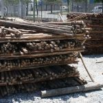 Wooden Poles & Droppers