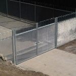 358 Single Skin Double Leaf Gate 2,4m High