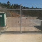 358. Single Skin Double Leaf Gate 2,4m high
