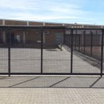 Betaview 2,4m High Sliding Gate
