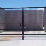 Nylofor 3M Double Leaf Gate 3m high