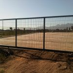 Nylofor 3M Sliding Gate 2,4m High