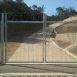 Security Fence in Pacalats Dorp