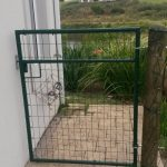 Pantanet Family – Round Tubing Powder Coated Gate 1.2m High